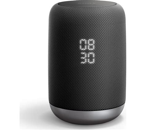 buy sony lf sg wireless smart sound speaker black  delivery currys