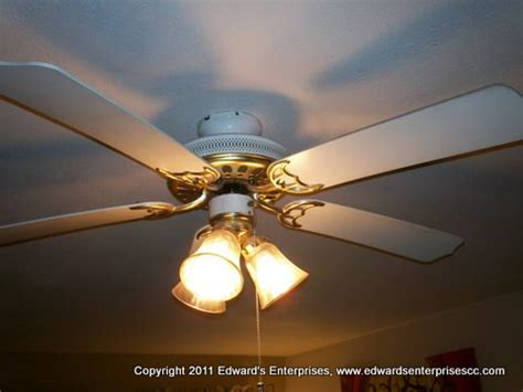 Ceiling Fan Repairs by How To Install A Ceiling Fan That Includes A Light Kit