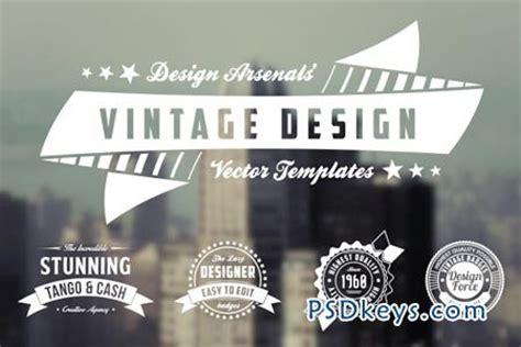 template photoshop vintage retro logo badge templates 21314 187 free download