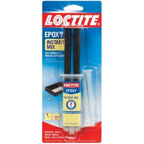 loctite 0 47 fl oz one minute instant mix epoxy 1366072