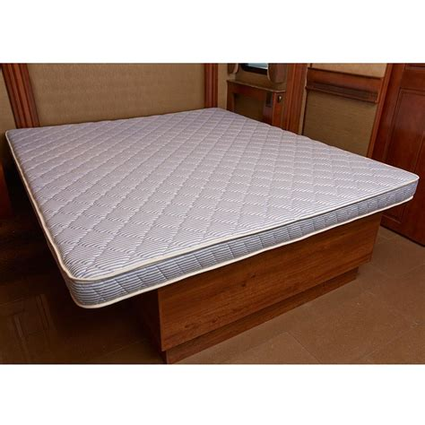 rv with king size bed innerspace 5 5 inch rv cer reversible mattress rv