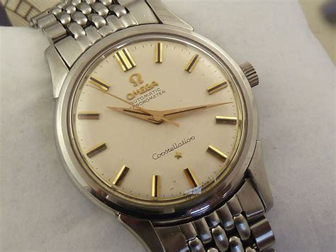 Omega Constellation 14381 c.1960   Secondhand and Vintage Watches   Poshtime.com