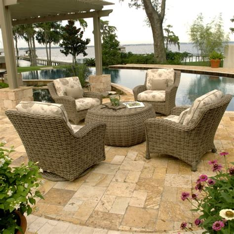chat set patio furniture dreux chat set