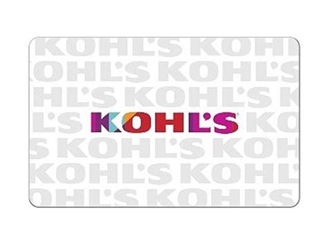 What Stores Sell Kohl S Gift Cards - kohl s 100 gift cards email delivery newegg com