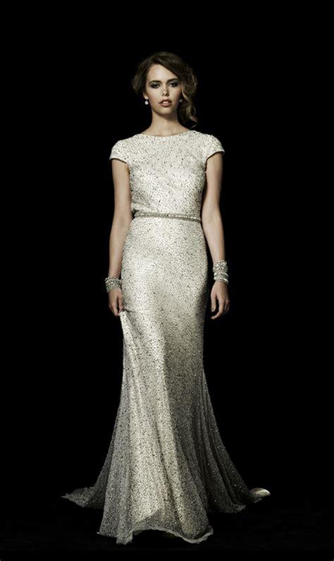 Dress Rajut No Iner 20 gorgeous wedding dresses with sparkle for the season chic vintage brides chic vintage brides
