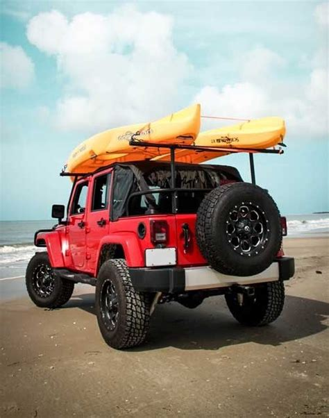 jeep kayak rack kayak rack is a must outdoorsy kayak rack