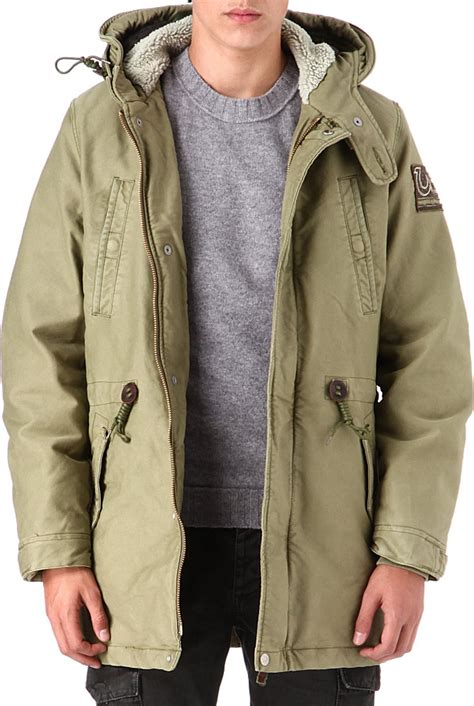 True Religion Parka by True Religion Parka Herren True Religion Cotton Parka In