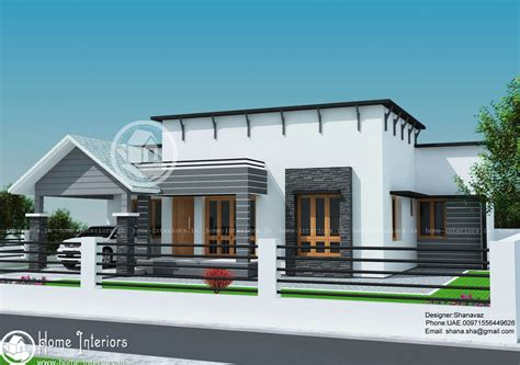 single bedroom homes 1300 sq ft single floor contemporary home design
