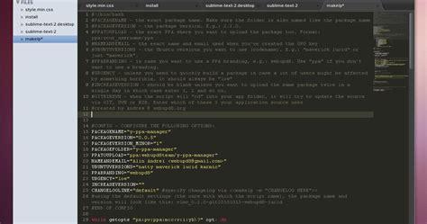 sublime text 3 themes ubuntu sublime text 2 ubuntu ppa web upd8 ubuntu linux blog