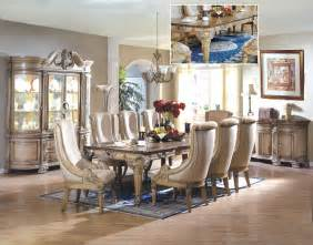 Dining Room Set Fine Home Furniture Weston White Wash Formal Dining Room Set