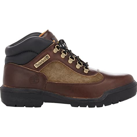 timberland field boot timberland s field boots in brown for lyst