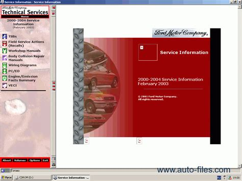 ford usa technical services 2000 2004 repair manuals download wiring diagram electronic parts