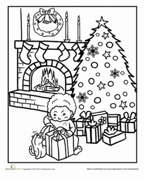 christmas in italy for kids coloring page pinterest color the worksheet education