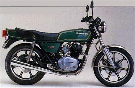 Kawasaki 250 Ltd Green kawasaki z250 gallery classic motorbikes