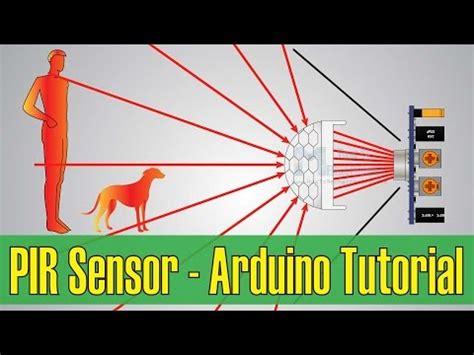 tutorial sensor pir arduino how pir sensor works and how to use it with arduino phim