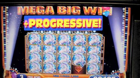 mystical unicorn slot machine massive big huge win  progressive jackpot youtube