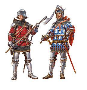 german knights xv century miniart 72011