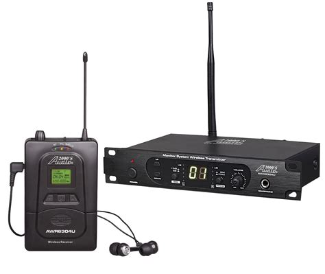 Ear Monitor Wireless audio2000 s awm6304u 100 selectable frequency uhf in ear monitor system musical