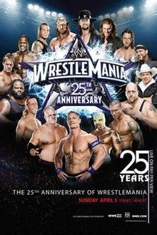 wrestlemania xxv wikipedia