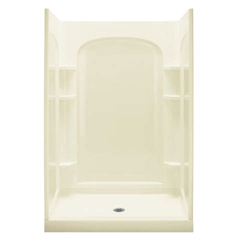 Sterling Shower Kits by Sterling Ensemble 35 1 4 In X 48 In X 77 In Curve