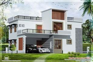 Modern Flat Roof House Plans | 3 bedroom contemporary flat roof house house design plans