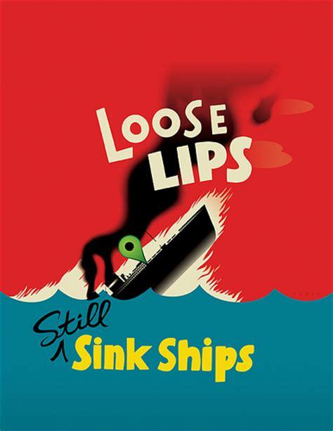 loose lips sink ships poster loose lips still sink ships flickr photo sharing