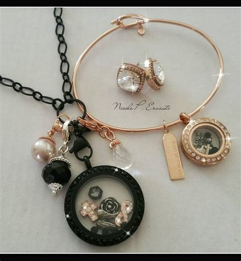 Origami Owl Charm - who black and gold this is the complete package