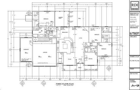 residential blueprints floor plans drawings residential design inc