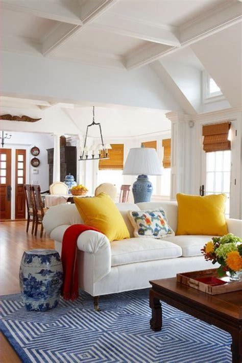 Blauer Und Weißer Speisesaal by Schlafzimmer Farben Beispiele