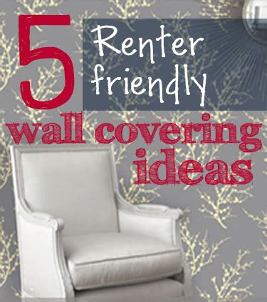 temporary wall coverings 5 renter friendly temporary wall covering solutions