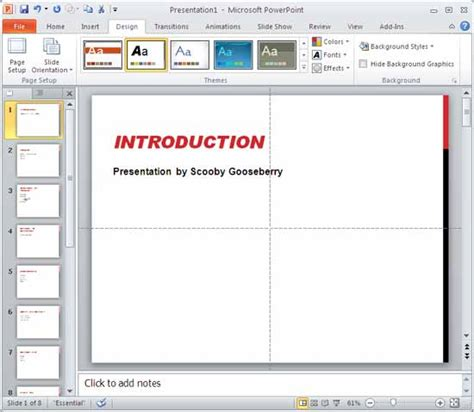 How To Apply Powerpoint Template To Existing Presentation In Powerpoint 2010 Image Collections Apply Template To Existing Powerpoint