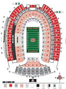 Ohio State Stadium Map by Ohio State University Basketball Ohio State Buckeyes