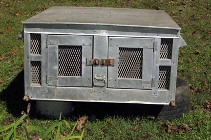 dog box for truck bed estate of raymond nichols tom wolfe auctioneer broker