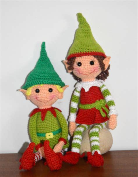 Pattern For Xmas Elf | christmas elves pattern amigurumibb s blog
