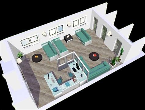 Home Plan 3d Projet 3d D Une Salle D Attente Eyre D 233 Co