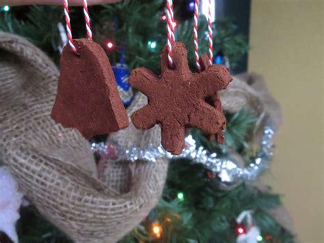 baked apple cinnamon christmas ornaments
