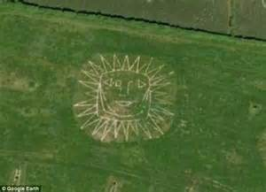 landscape design google earth smile you re on google earth the giant faces caught in