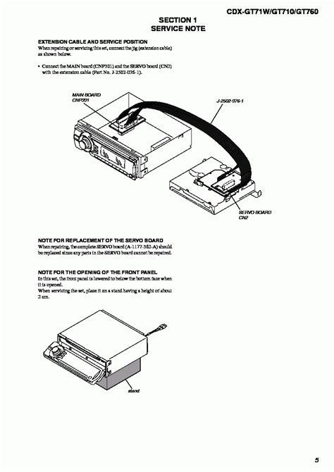 sony xplod cdx gt71w wiring diagram xplod free printable