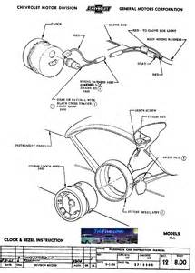 1955 chevy bel air dash wiring diagram get free image