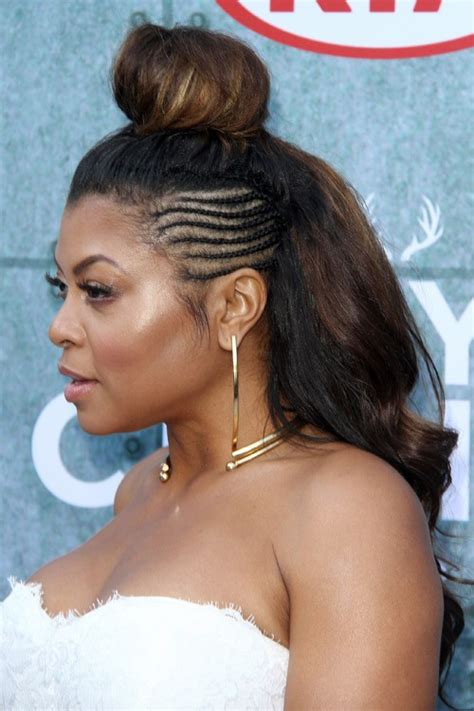 taraji p henson tattoo taraji p henson s hairstyles hair colors style