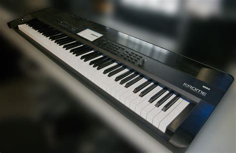 Keyboard Korg Krome korg krome 88 krome88 keyboard 88 note key workstation piano ebay