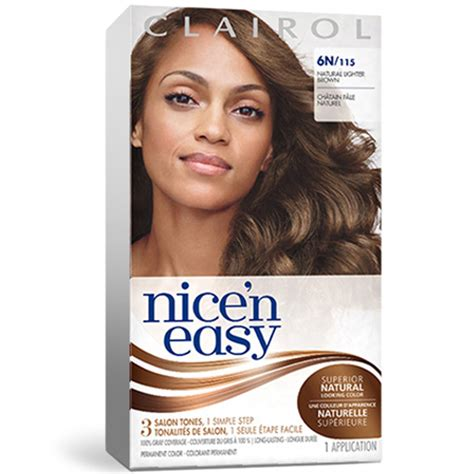 clairol color clairol n easy hair color chart permanent hair