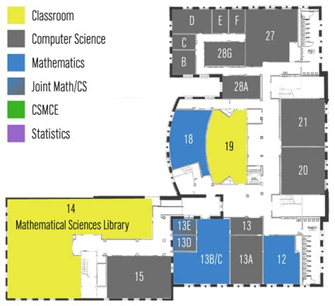 Floor Mathematics Avery Floor 0 Department Of Mathematics Of