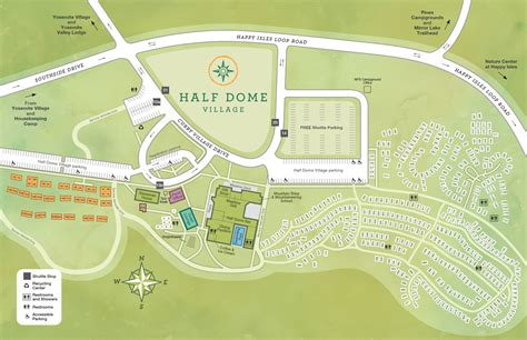 layout yosemite housekeeping c or half dome yosemite national park