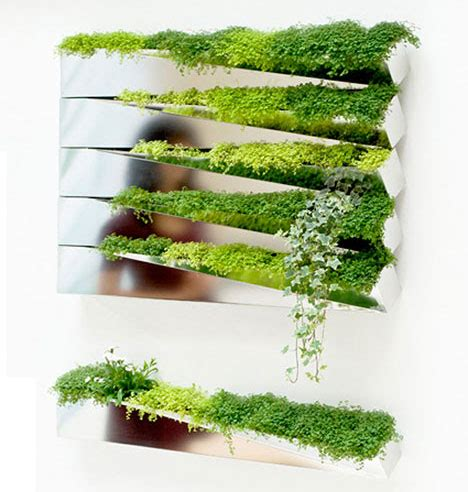 green wall decor modern green wall decoration grass mirror by h2o