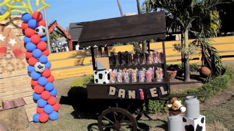 Youtube Comdecoracion De Uas Vaquero | decoraci 243 n cumplea 241 os de vaquero youtube