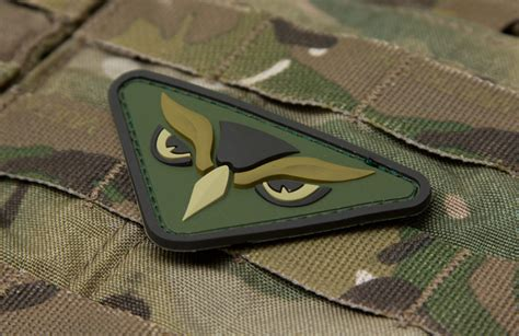 Molay Pvc Morale Patch Tacticool Civilian owl mil spec monkey store