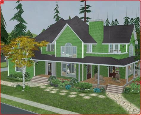 sims 3 6 bedroom house mod the sims green craftsman country style 3 bedroom house