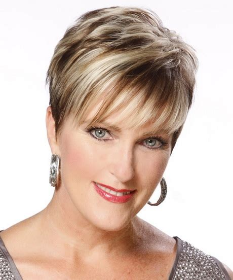 fine old women short hairstyles for older women with fine hair
