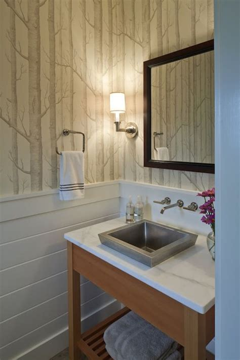 wallpaper for bathrooms walls wallpapers wood wallpaper and powder rooms on pinterest